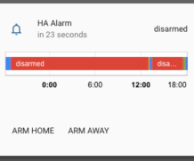 Alarms with HomeAssistant