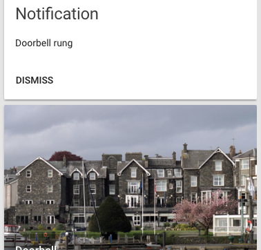 Camera snapshot notifications in Home Assistant