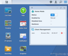 Surveillance Station on the Synology NAS