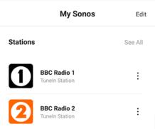 A quick Sonos automation
