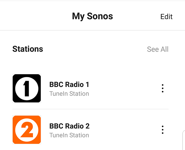 A quick Sonos automation – Sean's Technical Ramblings