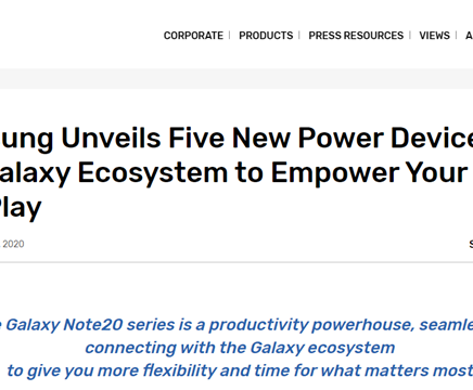 Samsung and its ecosystem